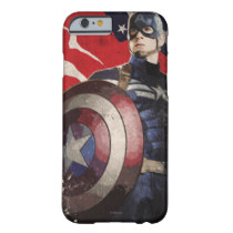 Captain America Flag Artwork Case