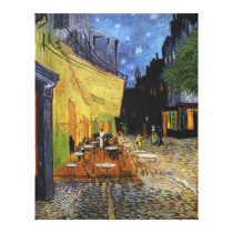 Cafe Terrace At Night Vincent Van Gogh Canvas